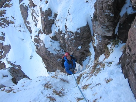Final pitch on Number Six Gully today