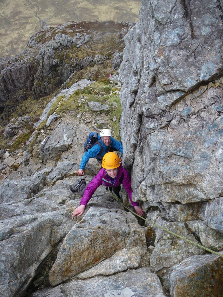 Curved Ridge Alan Kimber Mountaineering